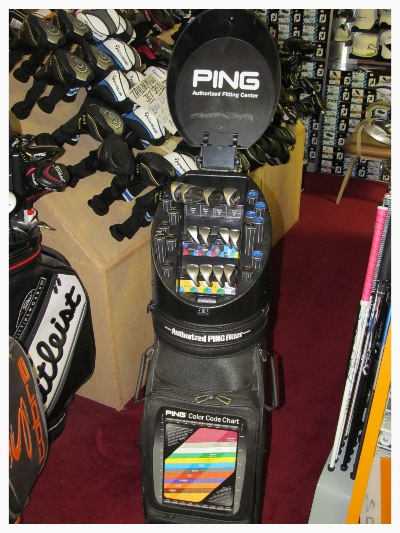 ping golf fitting system